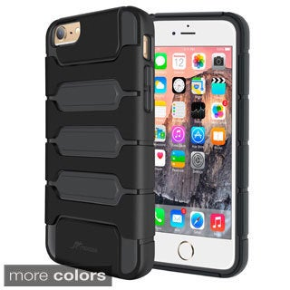 rooCASE Slim Fit Xeno Armor Hybrid Case Cover for iPhone 6
