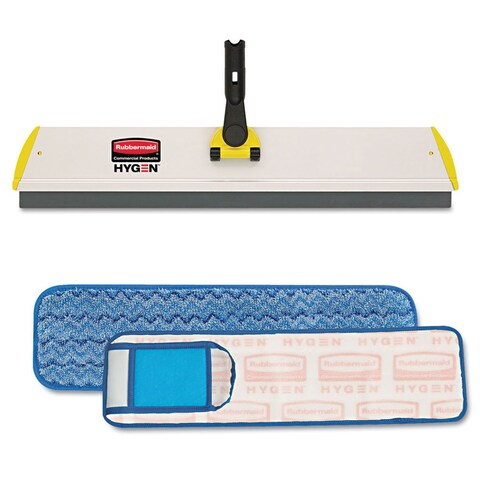 Rubbermaid Commercial Wet Pad with Scrubber (2 Pack)
