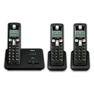 RCA 2101 Dect 6.0 Cordless Phone System with Handsets