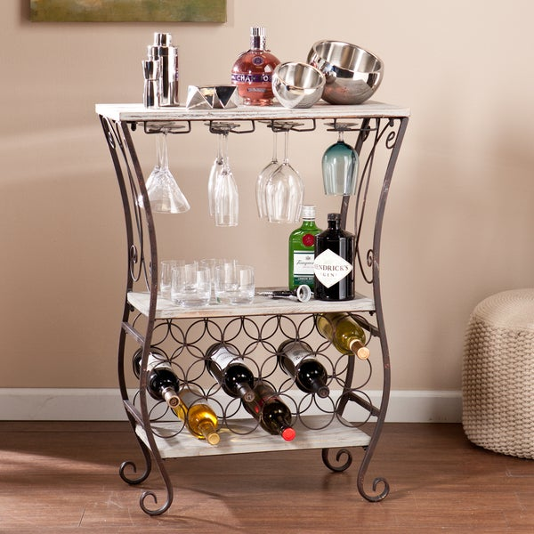 Harper Blvd Athens Wine Storage Table