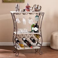 Havenside Home Oceanside Wine Storage Table