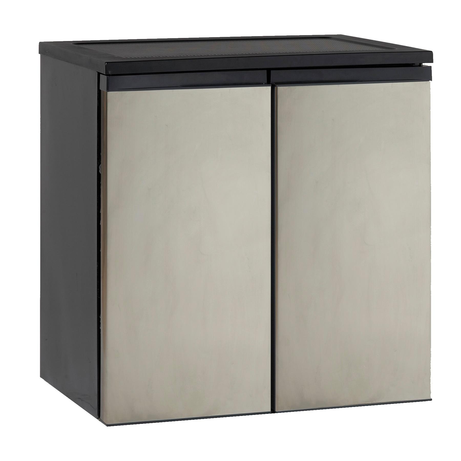 Avanti Stainless Steel 5.5-cubic Foot Side-by-Side Refrig...
