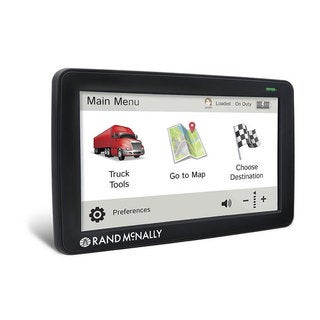 Rand McNally TND Intelliroute Truck GPS with Lifetime Maps and Wi-fi