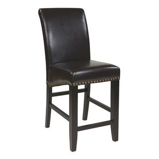 Metro 24-inch Parson's Eco Leather Barstool
