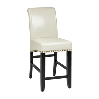 Clay Alder Home Danziger Metro 24-inch Parson's Eco Leather Barstool