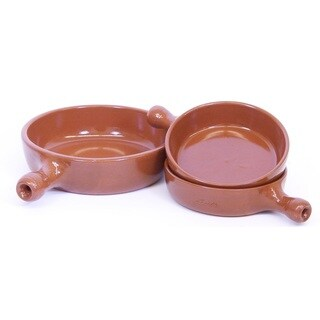 Elegant Spanish Terracotta Single Serve Frypan Set