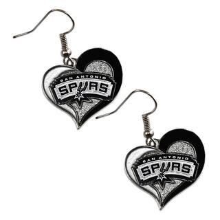 NBA San Antonio Spurs Swirl Heart Earring Charm Gift Set|https://ak1.ostkcdn.com/images/products/9498111/P16678369.jpg?impolicy=medium