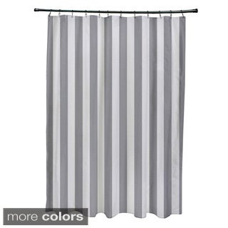 71 x 74inch striped shower curtain