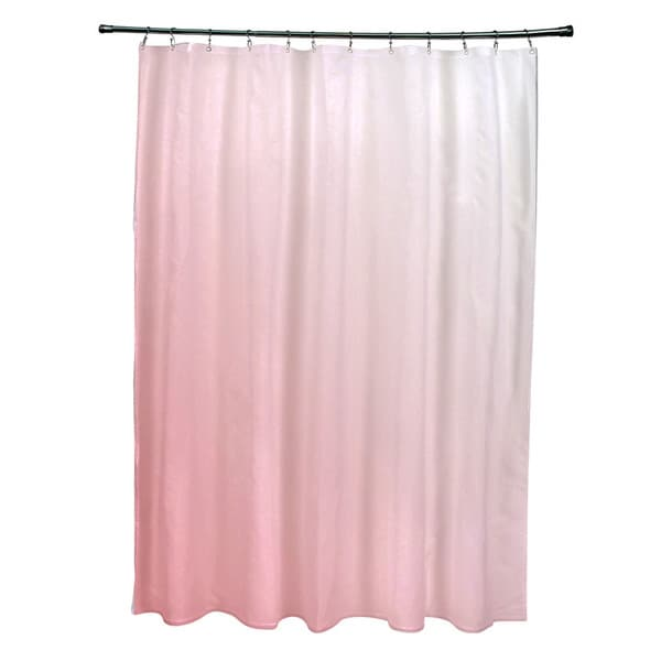 71 x 74-inch Coral Ombre Shower Curtain