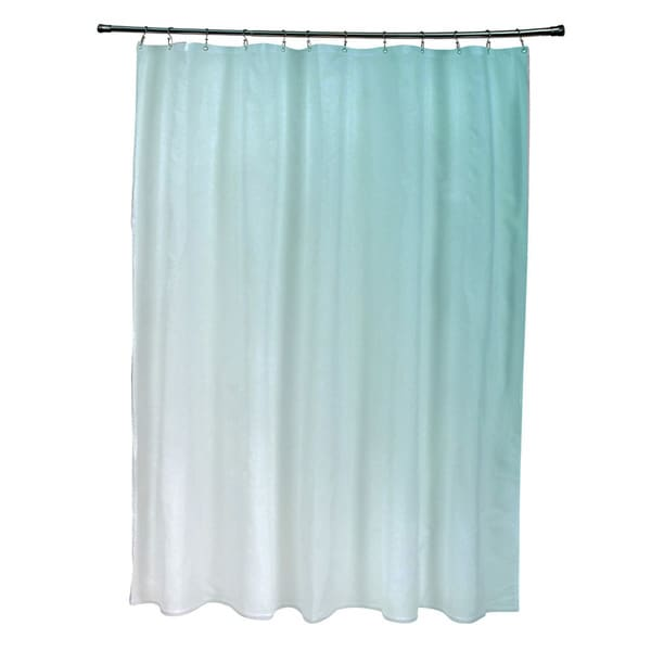 71 x 74-inch Jade Ombre Shower Curtain