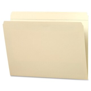 Sparco Straight-cut 2-Ply Manila File Folders (Box of 100)