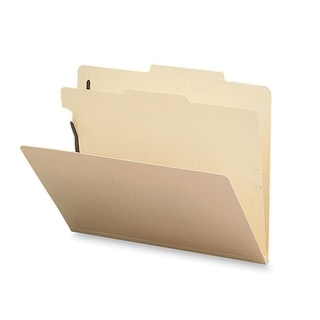 Sparco 1-Divider Classification Folders Box of 10