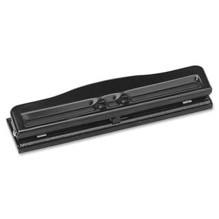Sparco Adjustable 3-Hole Punch