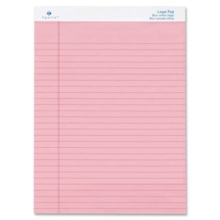 Sparco Coloured Legal Ruled Pads