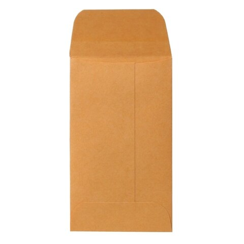 Sparco Brown Kraft Coin Envelopes (Box of 500)