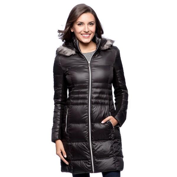 49c6b06ffe0d ... Women s Outerwear     Coats. BCBG Women  x27 s Packable Down Coat