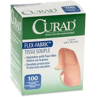 Medline Comfort Cloth Adhesive Fabric Bandages (Box of 100)