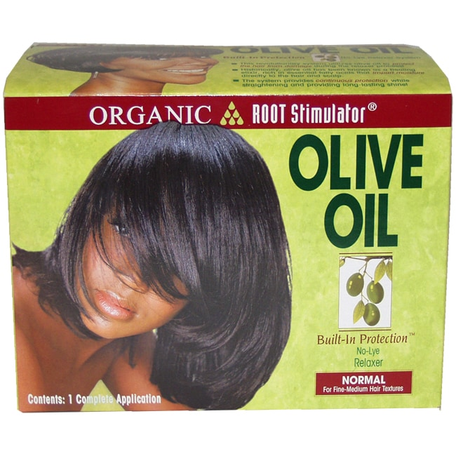 Organix Root Stimulator Anti-Frizz Olive (Green) Oil 6-ou...