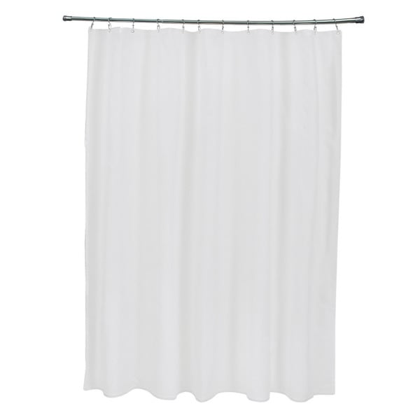 71 x 74-inch Paloma Solid Shower Curtain. Opens flyout.
