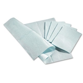 Medline Standard Poly-backed Blue Tissue Towels (Box of 500)