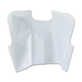 Medline Disposable White Patient Capes (Pack of 100)