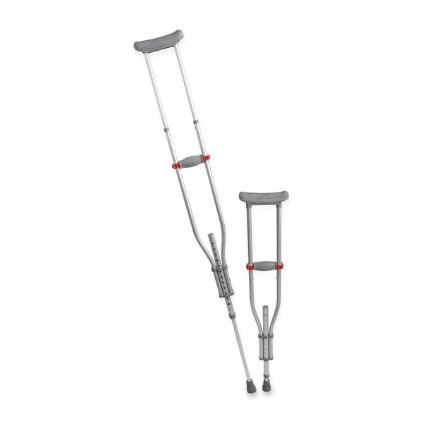 Shop medline quick-fit adjustable crutches free shipping today.