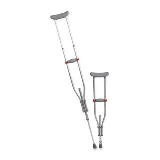Medline Quick-Fit Adjustable Crutches