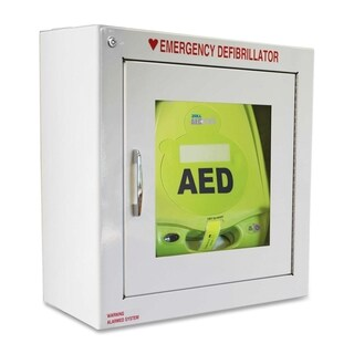 Zoll Medical AED Plus Defibrillator Alarmed Wall Cabinet