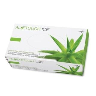Medline Aloetouch Ice Nitrile Large Size Gloves (Box of 200)