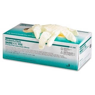 Kimberly-Clark Natural Small Size Powder-free Latex Exam Gloves (Box of 100)