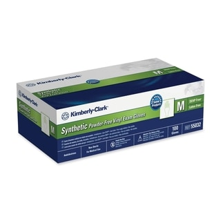 Kimberly-Clark Medium Size Synthetic Latex-free Exam Gloves (Box of 100)