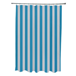 71 x 74-inch Rain Striped Shower Curtain