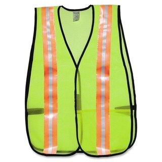 MCR Safety General Purpose Mesh Safety Vest