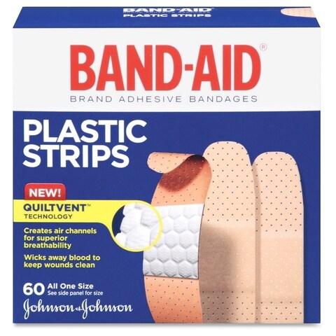 Johnson Band-Aid Comfort-flex Plastic Bandages (Box of 60)