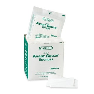 Medline Avant 2-inch Sterile Gauze Sponges (Box of 50)
