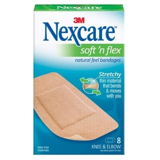 3M Nexcare Comfort Tan Knee Bandage (Pack of 8)
