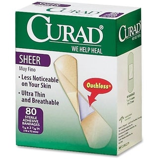 Medline Curad Sheer Bandages (Box of 80)