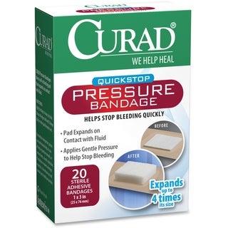 Medline Curad Green Pressure Adhesive Bandage (Box of 100)