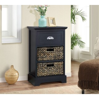 Gallerie Decor Newport Single-drawer 2-basket Table (3 options available)
