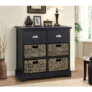 Gallerie Decor Newport 2 Drawer 4 Basket Table Free