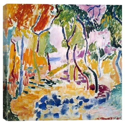 iCanvas Henri Matisse The Joy of Life Canvas Print Wall Art