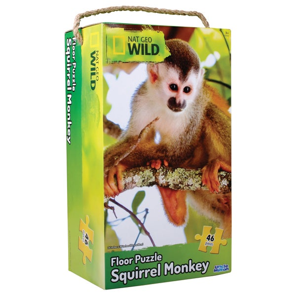 Uncle Milton Nat Geo Wild Monkey Floor Puzzle