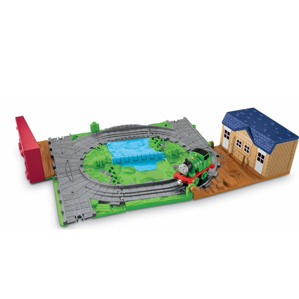 Thomas the Train Take N Play Percy Mail Delivery