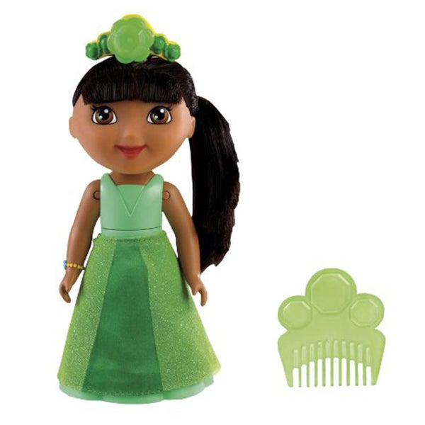 Dora Spin and Sparkle Green Crystal Doll