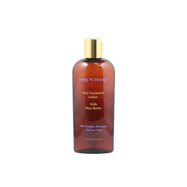 Long 'N Strong Treatment 8-ounce Lotion with Shea Butter for Ethnic Hair