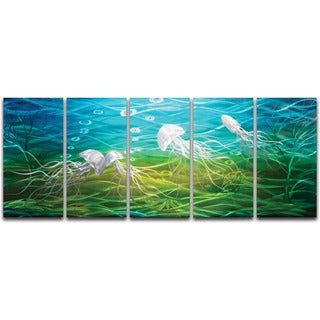 Mellow Jello' XL Metal Wall Art
