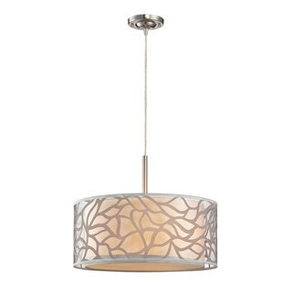 Elk Lighting Autumn Breeze 3-light Off-white Pendant