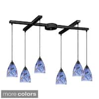 Elk Lighting Classico 6-light Dark Rust Pendant