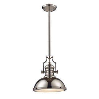 Chadwick Single-light MediumPolished Nickel Pendant