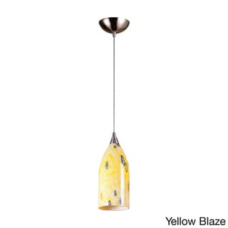 Elk Lighting Verona 1-light Satin Nickel Pendant